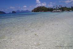 El Nido Palawan, Beach