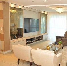 Living Room - Architecture and Home Decor - Bedroom - Bathroom - Kitchen And Living Room Interior Design Decorating Ideas - Living Room Tv Unit Designs, Interior Design Living Room, Room Interior, Home Decor Bedroom, Living Room Decor, Tv Unit Furniture, Furniture Design, Tv Wall Decor, Modern Kitchen Interiors