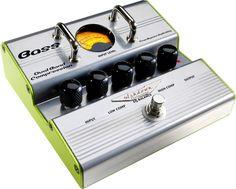 Ashdown Dual Band Compression Bass Guitar Effects Pedal