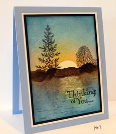 Tranquil Thinking of You SU Lovely as a Tree CASed by Theresa Momber