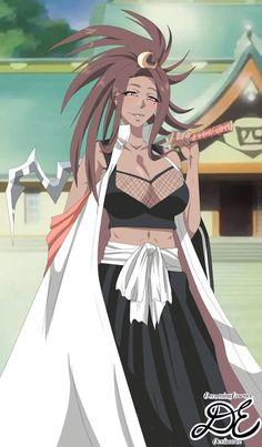 Setsuki Captain Squad 4 by DreamingEssence on DeviantArt Anime Sexy, Anime Echii, Anime Girl Hot, Anime Art Girl, Manga Girl, Anime Girls, Bleach Anime, Bleach Fanart, Black Anime Characters