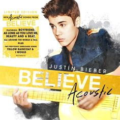 This is the best album ever<3 #BelieveAcoustic