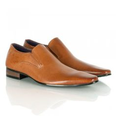 Daniel Jay Jay 146 Tan Leather Shoe