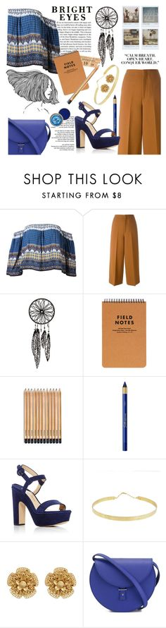"""wanderlust //"" by thatlibrarygeek ❤ liked on Polyvore featuring Marni, L'Oréal Paris, Polaroid, Paul Andrew, Lana, Miriam Haskell and PB 0110"