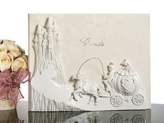 Fairytale Castle Theme Guest Book: this is actually a photo book that holds (36) 4x6 photos! Love it!
