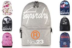 New Superdry Bags Selection Superdry Bags, Fashion Group, Black Boys, Herschel Heritage Backpack, Fashion Over 50, Backpack Bags, Fashion Boots, Shoulder Strap, Pouch