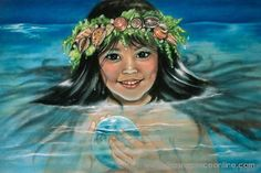 Mary Koski - Hawaiian mermaid