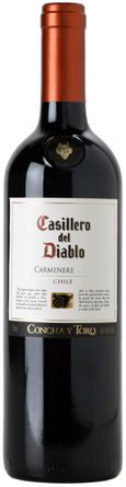 Casillero del Diablo Carmenere Wine. A friend brought me a bottle back from Chile. Strong and heavenly wine!!!
