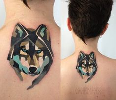 I love this style. If I figure out my true spirit animal, I might do something like this