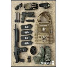 Get ready - Protect - React ( Tactical Shotgun, Edc Tactical, Tactical Equipment, Tactical Operator, Combat Gear, Combat Knives, Home Defense, Self Defense, Plate Carrier