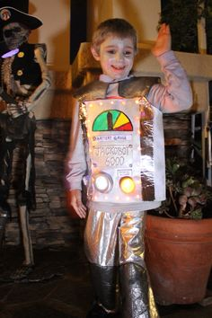 kid robot costume