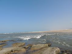 Iguape CE encontro do rio com o mar