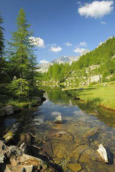 Lago Delle Streghe, Crampiolo, Piedmont, Italy