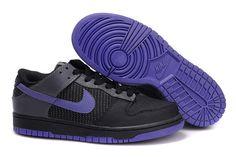 Nike Dunk SB Low Unisex Schwarz Lila
