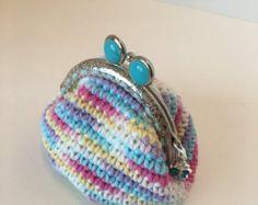 MINI Car Coin Purse Crochet Pattern por LauLovesCrochet en Etsy