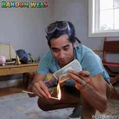 Take it easy while you are here. : randomweas: Best of Zach King from 2015