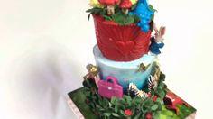 不思議の国のアリス イメージ 豪華3段ケーキ