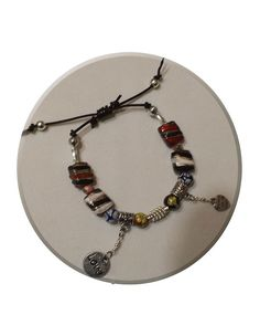 Boho Style ceramic brown via DJC - Handmade jewelry. Click on the image to see more!
