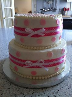 It's a Girl!  Cakes by @Marisa Russo