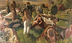 By the River Stanley Spencer