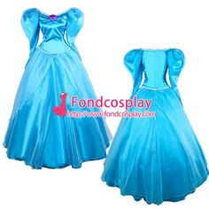 Free Shipping Disneyland The Little Mermaid Princess New Cosplay Costume…