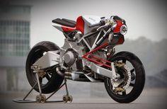 Krax Moto Bimota Tesi Cafra Concept.