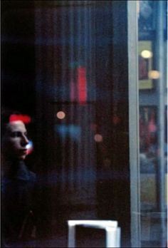 Saul Leiter. Watching, ca. 1952