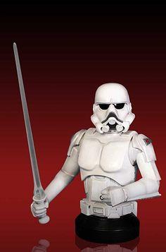McQuarrie Stormtrooper Mini Bust (Gentle Giant)