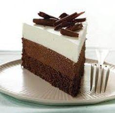 cách làm mousse chocolate ba tầng 1