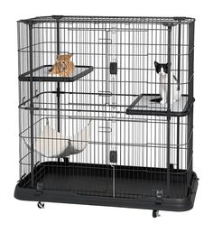 Prevue Pet Products Premium 3 Level Cat Home -- You can get more details by clicking on the image. (This is an affiliate link and I receive a commission for the sales)