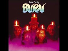 Deep Purple - Burn.   The sky is red, I dont understand,  past midnight I still see the land.  People are sayin the woman is damned, she makes you burn with a wave of her hand.