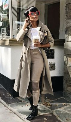 Work Outfits For African American Women Casual Fall Outfits, Fall Winter Outfits, Chic Outfits, Autumn Winter Fashion, Fashion Outfits, Work Outfits, Black Girl Fashion, Love Fashion, Fashion Looks