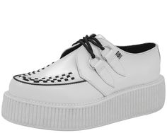 White Sole Mondo Creepers   T.U.K. Shoes