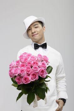 Taeyang flower photoshoot
