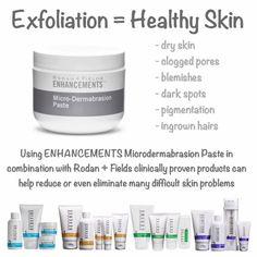 Microdermabrasion paste! you will love your skin! lphoenix1.myrandf.com