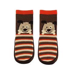 Jumping Beans Dog Striped Slipper Socks - Baby  KOHLS $9.80