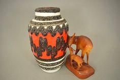 Vintage Vase / Scheurich / Modell 549 21 / Fat Lava | West Germany | WGP | 60er von ShabbRockRepublic auf Etsy