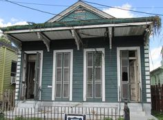 Our next real estate project in New Orleans Uptown. Converting a shotgun double into a single unit.