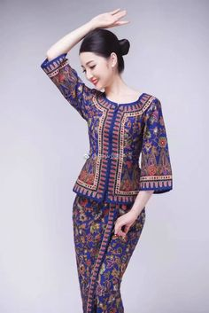 Airline Cabin Crew, Beautiful Muslim Women, Office Skirt, Military Women, Batik Dress, Flight Attendant, Wardrobes, Asian Beauty, Dress Skirt