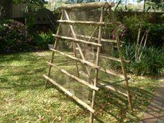 bamboo trellis garden pinterest bamboo trellis gardens and