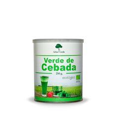 Verde Cebada Ecológico (polvo), 10 €. Recibe el nombre de Sangre Verde debido a su riqueza en Clorofila y Enzimas es altamente alcalinizante, depurativo y desintoxicante. Ayudando a nuestro organismo a estar equilibrado y favorecer la oxigenación celular.