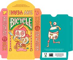 Brosmind Playing Cards for Bicycle by Brosmind , via Behance