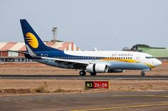 Majestic in the sky & majestic on the ground as well! Angad Singh, Jet Airways, Aircraft, India, Sky, Heaven, Aviation, Goa India, Plane