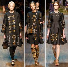 Dolce & Gabbana - Fall 2014