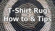 Learn how to use t-shirt yard to create a DIY rug pattern that will make your toes happy and your home cozy.