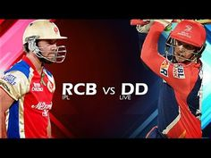 IPL 2017 RCB vs DD Live Match || 5th Match IPL 10 || RCB vs DD Live Score