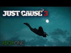 Just Cause 3 - Wingsuit from the Tallest Mountain (Night)