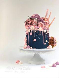 paleo mug cake 16th Birthday Cake For Girls, 14th Birthday Cakes, Candy Birthday Cakes, Creative Birthday Cakes, Sweet 16 Birthday Cake, Elegant Birthday Cakes, Beautiful Birthday Cakes, Creative Cakes, 2 Year Old Birthday Cake