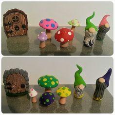 Terrarium Gnomes Mushrooms & Fairy Doors