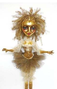 #Gold #Doll by Sheri DeBow